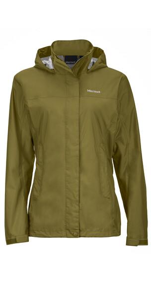 Marmot W's PreCip Jacket Olive
